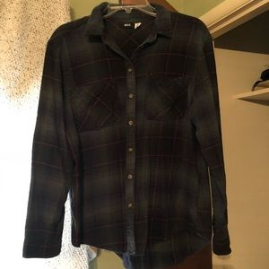 BDG button down flannel